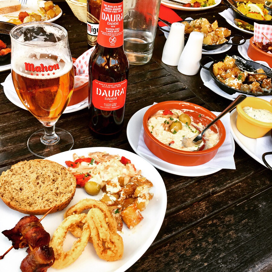 A selection of tapas at Ole Ole in Lincoln.