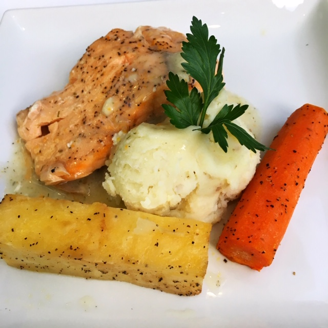 Salmon main course