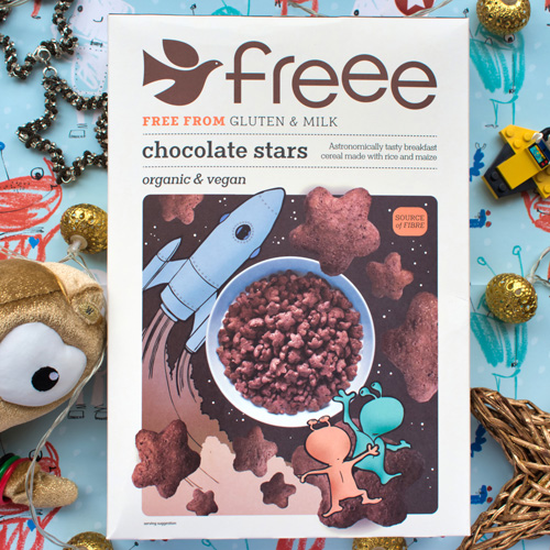 FREEE Chocolate Stars
