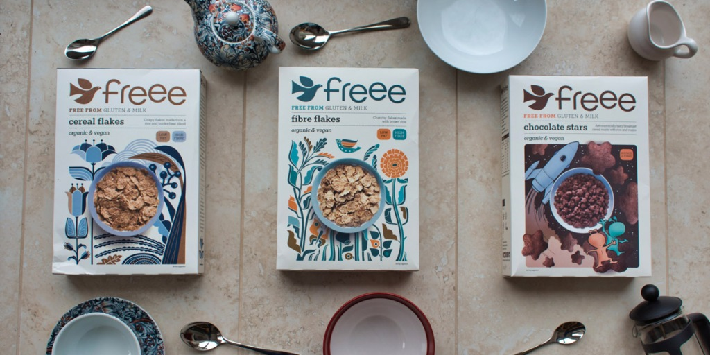 The FREEE cereal range